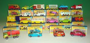 Matchbox Superfast cars