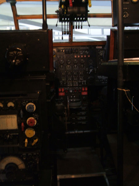 Avro York Cockpit