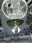 b17G - nose gun position