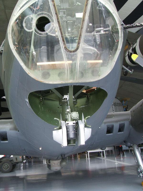 b17G - nose gun position