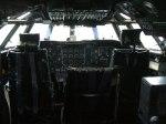 Bristol  Britannia cockpit