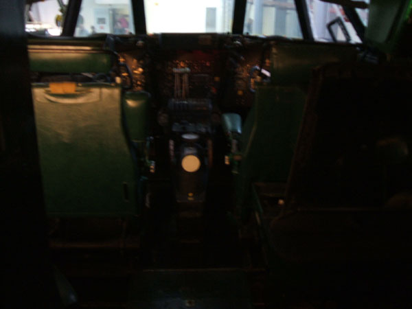 DeHavilland Comet Cockpit