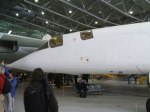 TSR2 nose section. Such a shame this beautiful aircraft was cancelled by the Government.