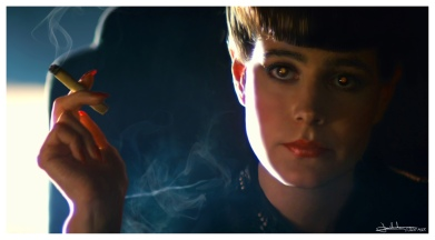 Rachael Tyrell from Blade RunnerRachaell Tyrell from Blade Runner. Who hasn't been inspired by this marvelous film or book?