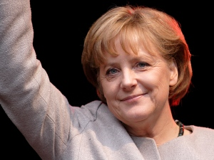 Angela Merkel -  leader of the social market economy in Germany