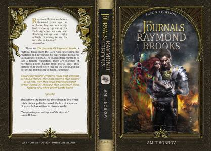 The Journals of Raymond Brooks cover