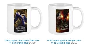 Lazlo Ferran gift mugs