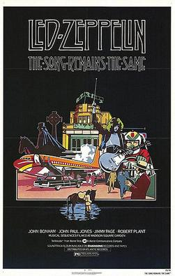 The Song Remains the Same poster